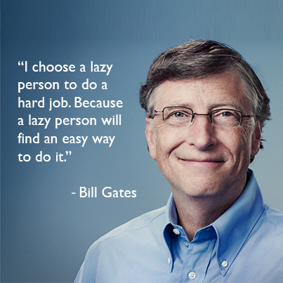 How Being Lazy Can Make You A Successful Marketer