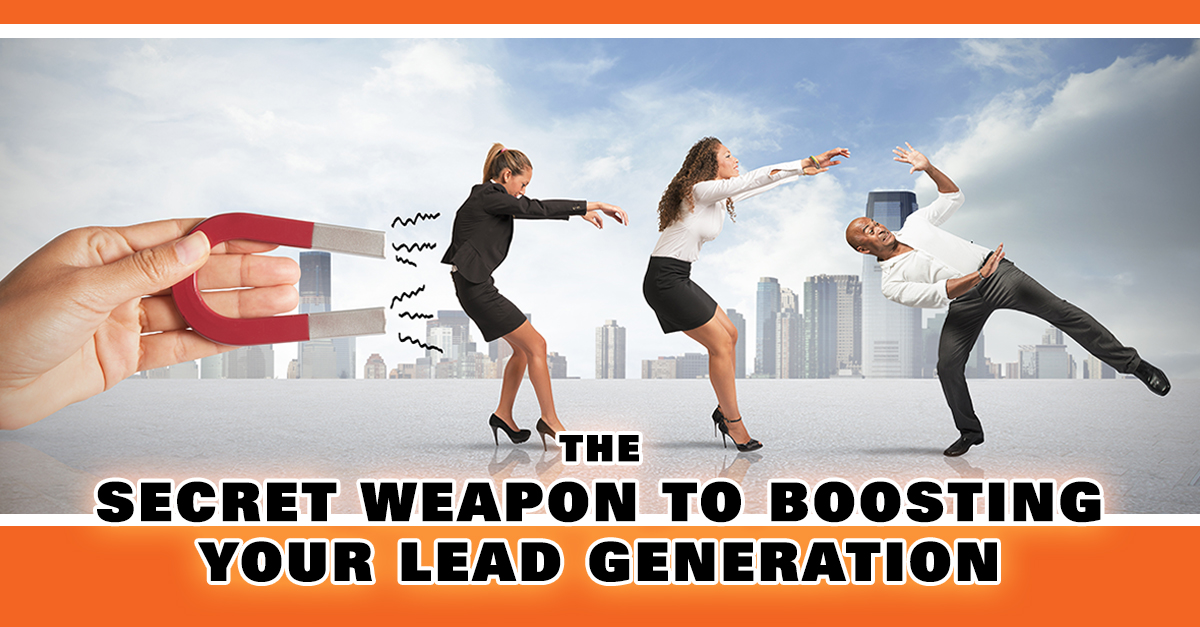 The Secret Weapon Top Earners Use To Pull In Massive Quantities of Pre-qualified Leads & Build Their Brand