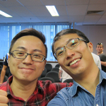 Andrew and I at The Home Business Summit (Singapore)