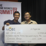 Luke Lim and I at The Home Business Summit (Singapore)