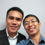 Sean Lim and I at The Home Business Summit (Singapore)