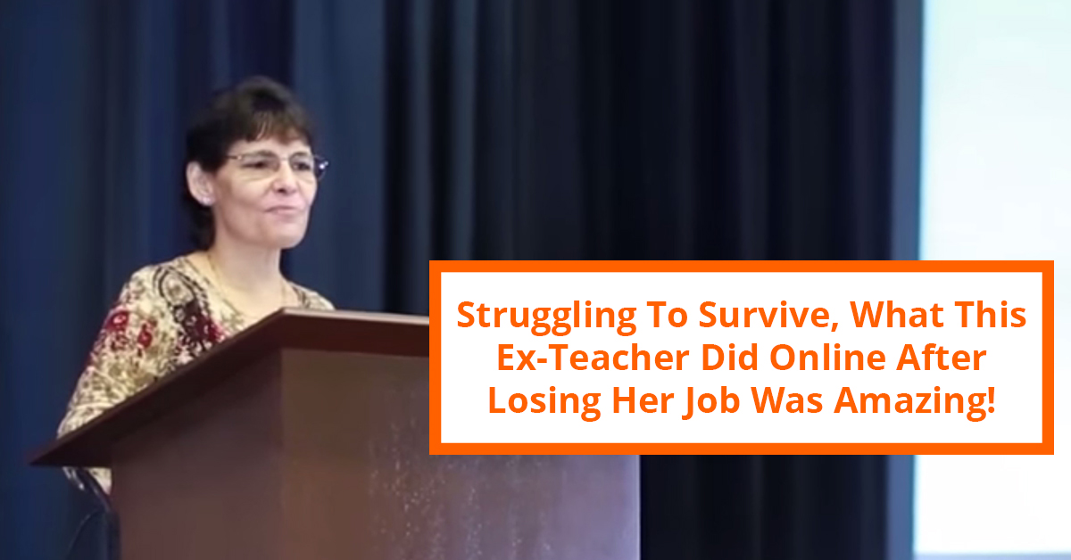 You Won't Believe What This Ex-Teacher Did After Losing Her Job